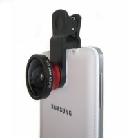 Lensa kamera handphone SUPER WIDE 0,4 Fish Eye