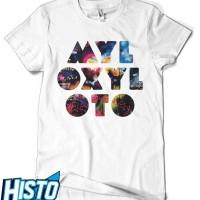Kaos Coldplay -  CLD25 WH