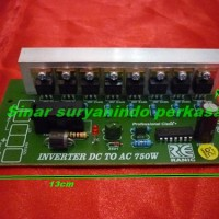 Kit inverter dc to ac 750w 811, Rangkaian