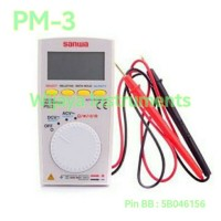 SANWA PM3 POCKET DIGITAL MULTIMETER