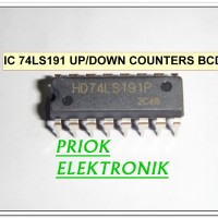 IC 74LS191 Synchronous 4-Bit UP/DOWN COUNTERS