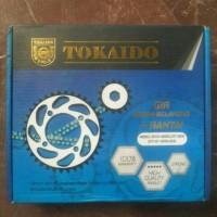 gear set + rantai revo absolute / blade tokaido