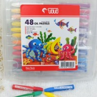 Crayon TITI Oil Pastel 48 Warna