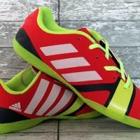 Sepatu Futsal/Olahraga Adidas Nitrocharge Merah Hijau
