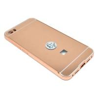 Aluminium Tempered Glass Hard Case for Xiaomi Mi5 - Rose Gold