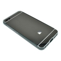 Aluminium Tempered Glass Hard Case for Xiaomi Mi5 - Black