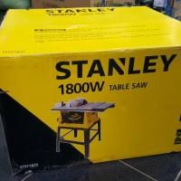 Table Saw 10 1800 Watt STANLEY STST 1825 Mesin Potong Kayu