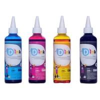 D Ink Tinta Refill Printer Canon 250 ml 4 Warna