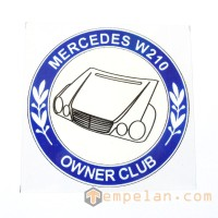 STICK ON MERCEDES - BENZ W 210 OWNER CLUB