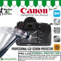 Screen Guard Protector Tempered Glass LCD Canon for EOS 650D/700D
