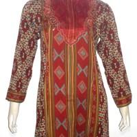 Gamis Batik Bordir