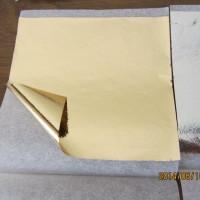kertas foil emas gold leaf foil kertas prada sepuhan sepuh emas ecer