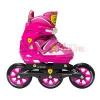 Sepatu Roda LYNX SPS65 Semi Speed Inline Skate - Pink