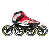 Sepatu Roda LYNX SP56 Speed Inline Skate - Red