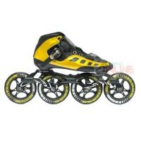 Sepatu Roda LYNX SP56 Speed Inline Skate - Gold