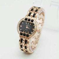 Jam tangan wanita / cewe Gucci M8608 rose black