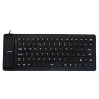 Flexible Mini USB Keyboard - Hitam