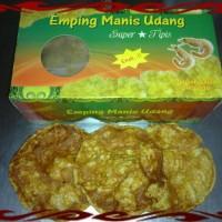 Emping mlinjo super tipis bumbu udang manis/manis pedas