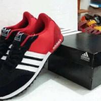 Sepatu Adidas Neo V Racer Red Merah Murah Running