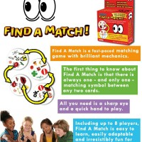 Kartu Permainan Find A Match a.k.a Dobble / Spot it - Card Game