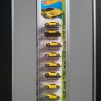 RAK DISPLAY HOTWHEELS REGULAR PANJANG 50 CM