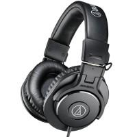 Audio-Technica ATH-M30x Closed Back Monitor Headphone Black