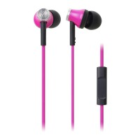 Audio technica ATH-CK330iS Pink