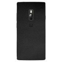 9Skin -Premium Skin Protector u/ Case OnePlus 2 Two - 3M Black Leather