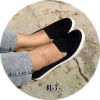 Flst Shoes Kanvas RL-3 Hitam