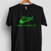 kaos/tshirt/gildan/sablon/polyflex/custom/Nike/weed/custom/distro