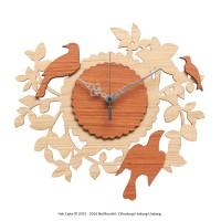 Jam Dinding Unik Artistik - BirdNest I Wall Clock