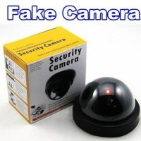Dummy Security Camera CCTV Fake Palsu Mainan Replika Keamanan Safety