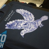Kaos Coldplay Ghost Stories - CLD40 NV