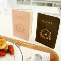 Korean Style Passport Wallet Cover / Sampul Paspor