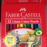 Pensil 12 Warna Faber Castell Classic Pendek atk
