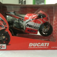 Maisto 1/10 Diecast Motorcycles Ducati Desmosedici Andrea Davizio