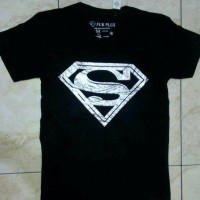Baju kaos Spandex SUPERMAN