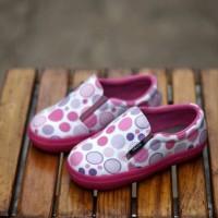 Sepatu Anak Decks Medley Polkadot Bubble Pink