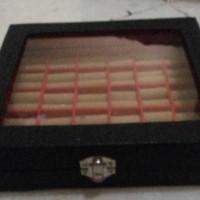 kotak cincin isi 30 bahan kulit