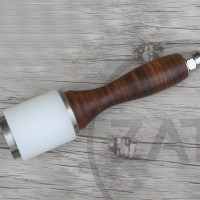 Round Maul (hammer) | leather tools | perlengkapan kulit | craft tools