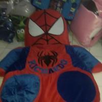 karpet matras spiderman