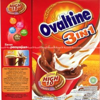 Susu Ovaltine 3in1 Susu Olvatine Coklat 600gr