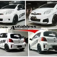 Bodykit Toyota Yaris 2012 (Fungressive) TRD Plastik ABS Grade B
