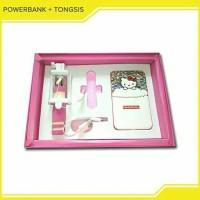 Powerbank + Tongsis Gift Set