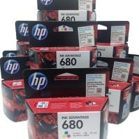 Tinta Printer Hp 680 Color