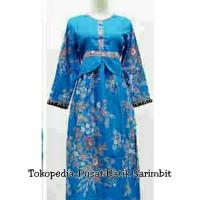 Gamis Muslim Anak 035 193 Batik Longdres syari seragam keluarga