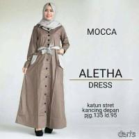 aletha dress mocha