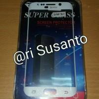 Samsung Galaxy S6 Edge Melengkung (Tempered Glass Screen Protector)