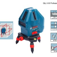 Laser Garis Mini BOSCH GLL 5-50 Self Level Cross Line Laser