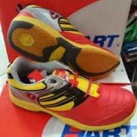 Sepatu badminton Hart HS 503 Red Yellow